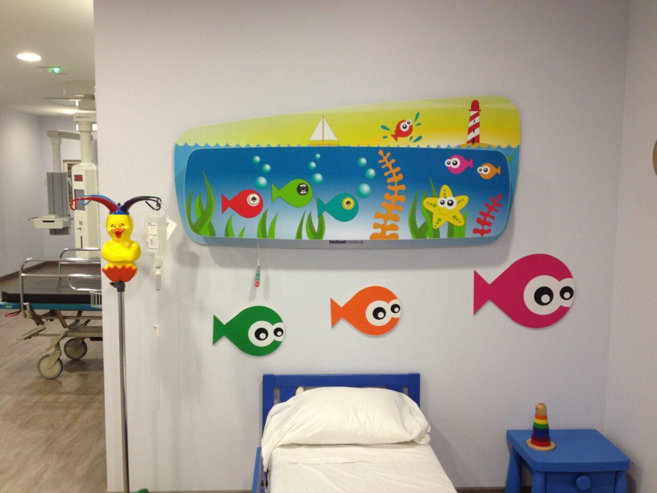Maya Tedisel Medical Children's Headboard